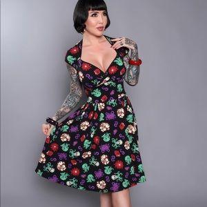 Pinup Girl Baby Cthulhu Luscious Dress